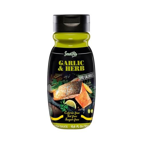 Zero calories GARLIC & HERBS - Servivita